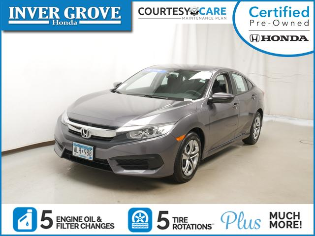 Certified Pre Owned 2018 Honda Civic Sedan