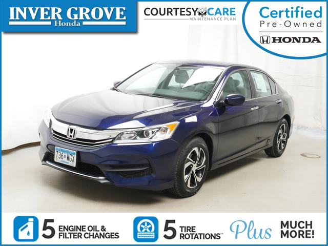 Certified Pre-Owned 2017 Honda Accord Sedan