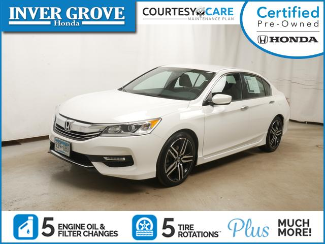 Certified Pre-Owned 2016 Honda Accord Sedan