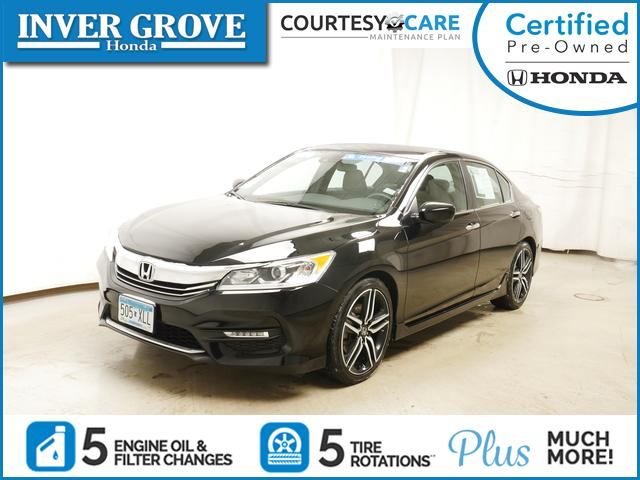 Certified Pre-Owned 2017 Honda Accord