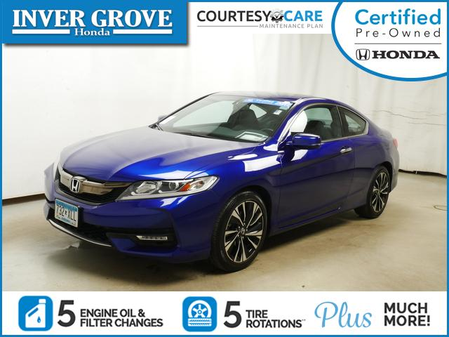 Certified Pre-Owned 2017 Honda Accord Coupe