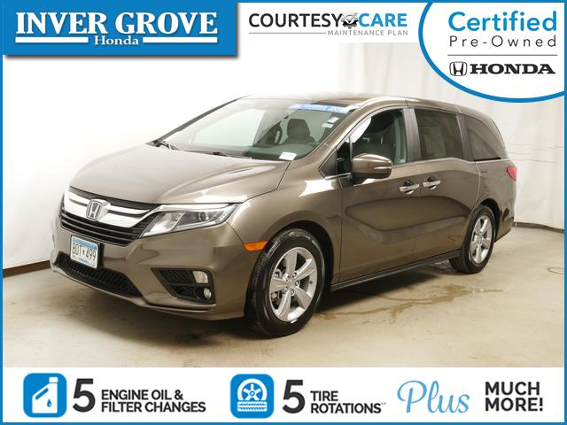certified pre owned 2018 honda odyssey ex for sale inver grove heights mn st paul. Black Bedroom Furniture Sets. Home Design Ideas
