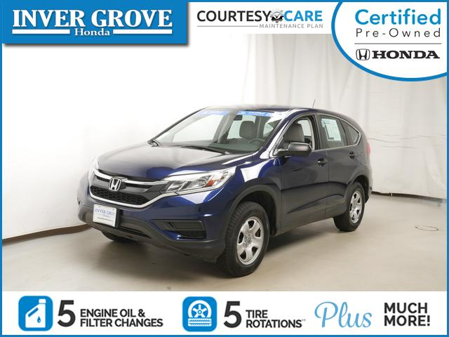 Certified Pre Owned 2015 Honda CR V