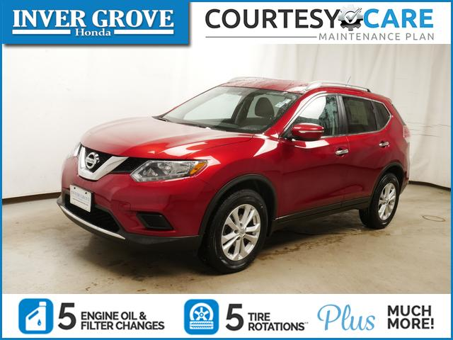 Inver Grove Nissan >> Pre Owned 2014 Nissan Rogue Awd 4dr Sv
