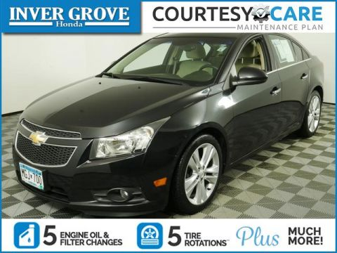 Pre-Owned 2012 Chevrolet Cruze 4dr Sdn LTZ