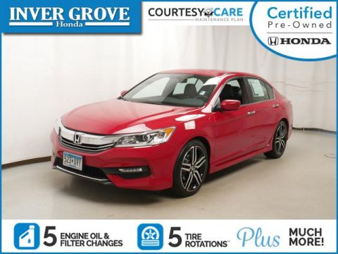 Certified Pre-Owned 2016 Honda Accord Sedan 4dr I4 CVT Sport
