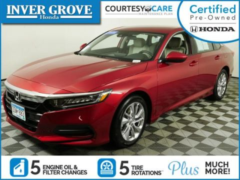 Certified Pre-Owned 2019 Honda Accord Sedan LX 1.5T CVT