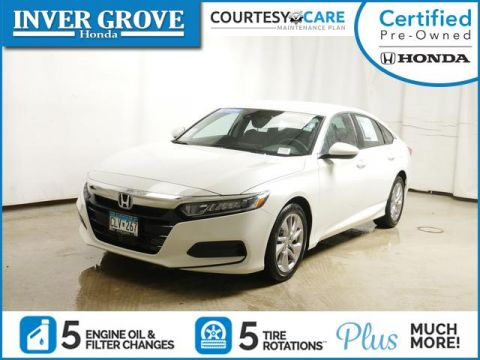 Certified Pre-Owned 2019 Honda Accord LX 1.5T CVT