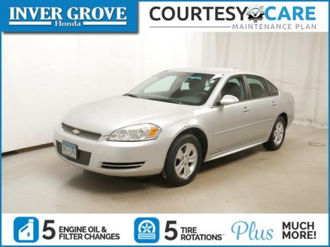 Pre-Owned 2012 Chevrolet Impala 4dr Sdn LS Fleet