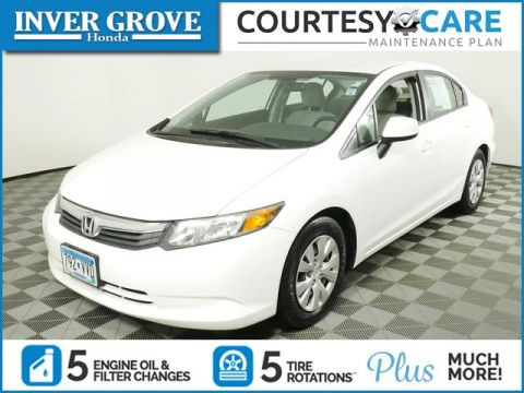 Pre-Owned 2012 Honda Civic Sedan 4dr Auto LX