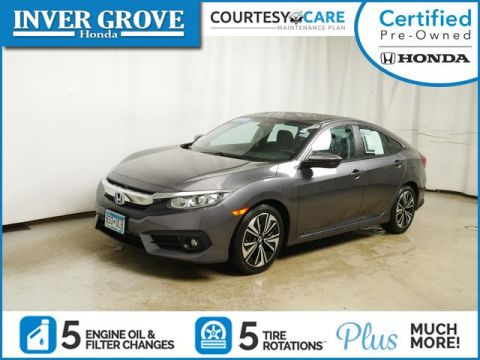Certified Pre-Owned 2016 Honda Civic 4dr CVT EX-T