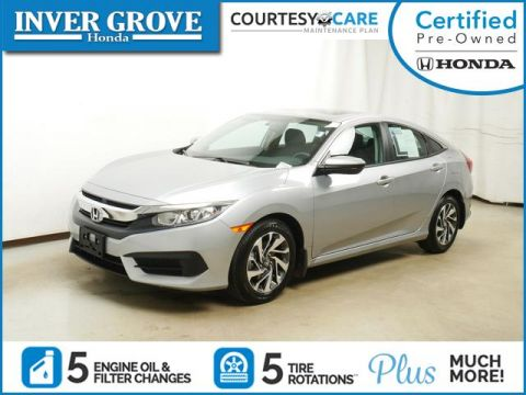 Certified Pre-Owned 2018 Honda Civic EX CVT