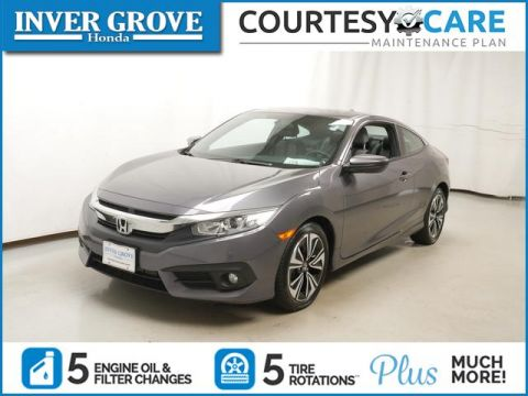 Certified Pre-Owned 2016 Honda Civic Coupe 2dr CVT EX-T