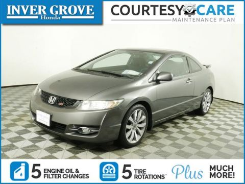 Pre-Owned 2010 Honda Civic Coupe 2dr Man Si