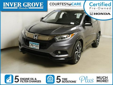 Certified Pre-Owned 2019 Honda HR-V Sport AWD CVT