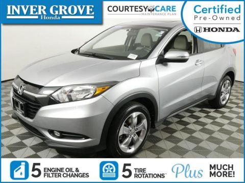 Certified Pre-Owned 2017 Honda HR-V EX AWD CVT