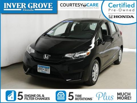 Certified Pre-Owned 2017 Honda Fit LX Manual