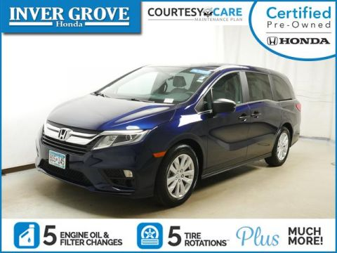 Certified Pre-Owned 2019 Honda Odyssey LX Auto