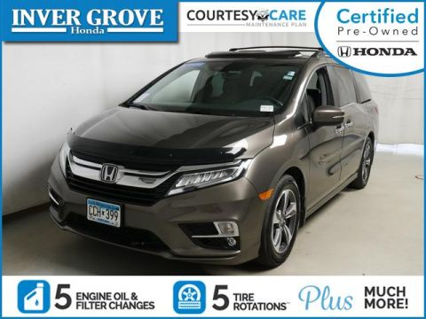 Certified Pre-Owned 2019 Honda Odyssey Touring Auto