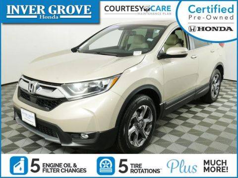 Certified Pre-Owned 2017 Honda CR-V EX-L AWD