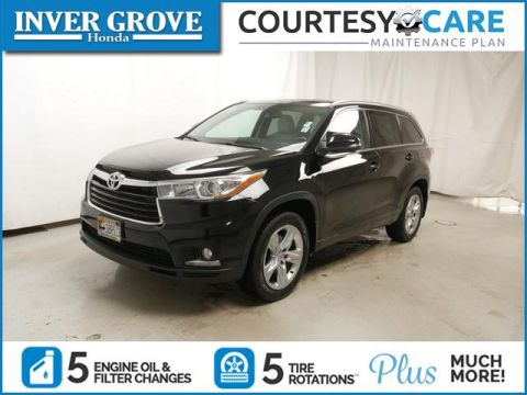 Pre-Owned 2015 Toyota Highlander AWD 4dr V6 Limited