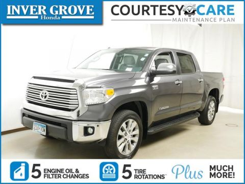 Pre-Owned 2016 Toyota Tundra CrewMax 5.7L FFV V8 6-Spd AT LTD